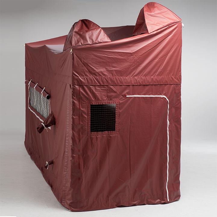 まもるんテント ペットも一緒に避難テント